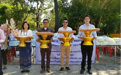 Von Bundit hosts annual Katin Ceremony at Wat Nong Phai Nong Wa