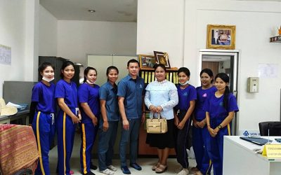 Von Bundit Khun Talay welcomes teachers and students of Wiangsa Vocational School