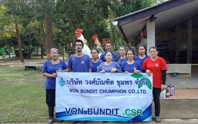 Von Bundit Phunpin organises Big Cleaning Day at Yang Khor Temple