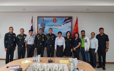 Von Bundit Co., Ltd., Udon Thani branch, attended a meeting to clarify the mission of the military at the 24th Army, Prachaksinlapa Camp.