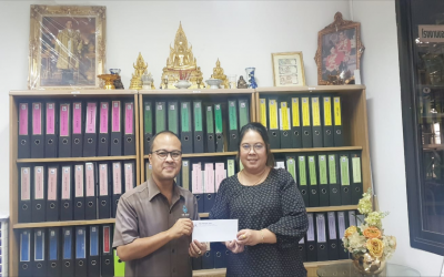 THAVEESAK KERDVONGBUNDIT FOUNDATION established a scholarship program to support employee's children education of Von Bundit Company Limited, Head Office, Phuket Branch Jul 4, 2020