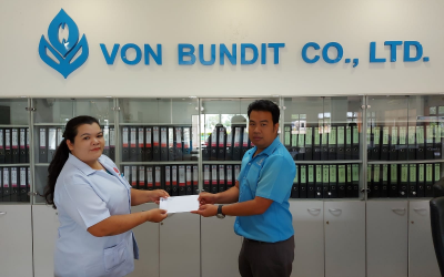 THAVEESAK KERDVONGBUNDIT FOUNDATION established a scholarship program to support employee's children education of Von Bundit Co., Ltd., Udon Thani Branch Jul 4, 2020